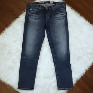Size 29 AG The Stilt Crop Cigarette Leg Jeans
